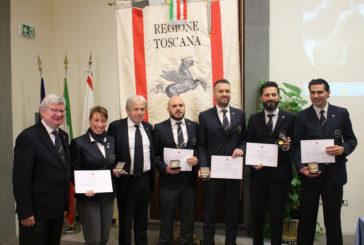 Onoreficenza della Regione ai sommelier toscani campioni italiani 2018