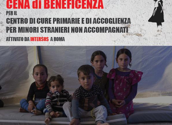Cena benefica a Monticchiello per i minori stranieri non accompagnati