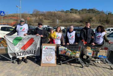 Raccolta alimentare: soddisfazione di Solidarietà Nazionale Siena
