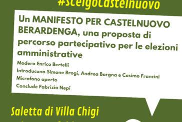 #ScelgoCastelnuovo, appuntamento sabato 16 in Villa Chigi