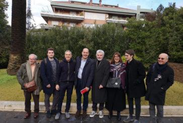 Nicola Zingaretti a Siena il 12 febbraio