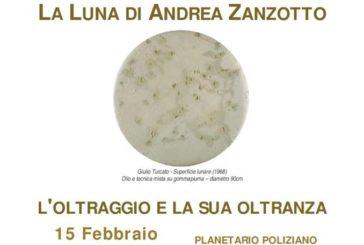 La Luna di Andrea Zanzotto al Planetario Poliziano