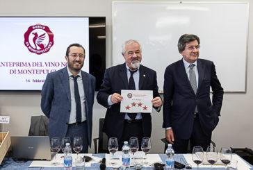 Vino Nobile di Montepulciano: 4 stelle (su 5) alla vendemmia 2018