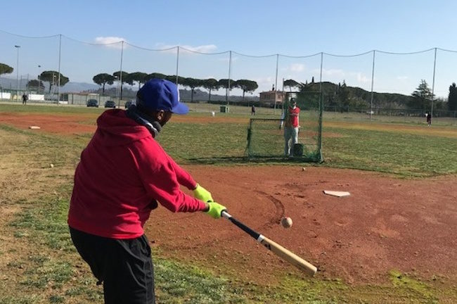 Baseball: primo allenamento per il B. C. Siena