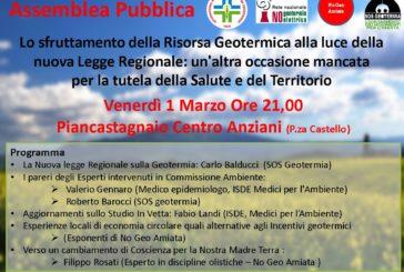 Geotermia e legge regionale: se ne parla a Piancastagnaio