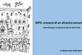 """Agli Intronati si presenta """"Mps: cronaca di un disastro annunciato"""""""