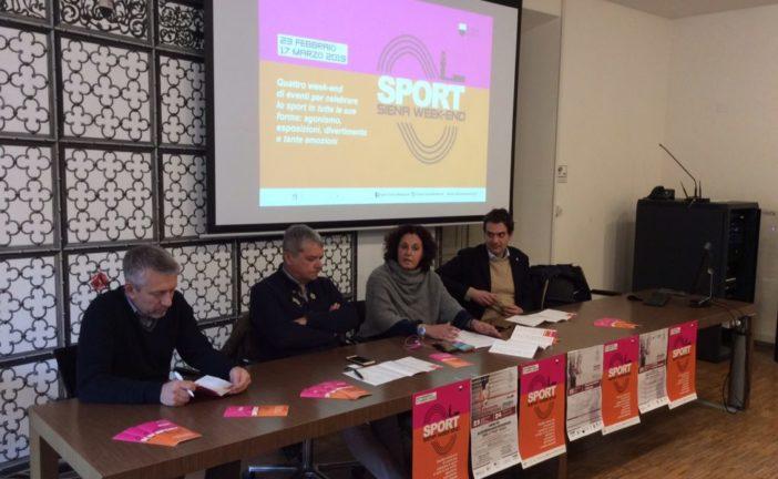 Riparte il 23 febbraio Sport Siena week end
