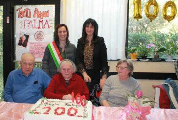 Grande festa per i 100 anni di Palma Nannotti