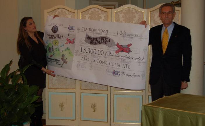 L'Accademia dei Rozzi consegna 15.300 euro a 3 associazioni di volontariato
