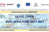 La Regione finanzia un corso per sviluppatore dot.net
