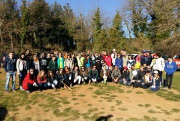15 quintali di rifiuti raccolti a Lecceto dai volontari