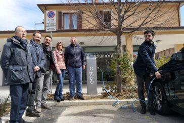 Chianciano: inaugurate le colonnine ricarica per veicoli elettrici