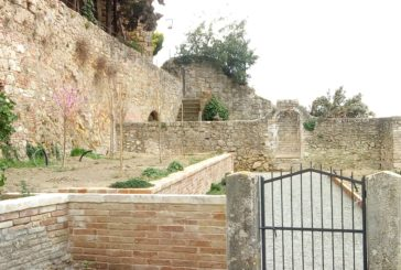Cetona: nuova vita per l'orto giardino didattico sotto la Rocca
