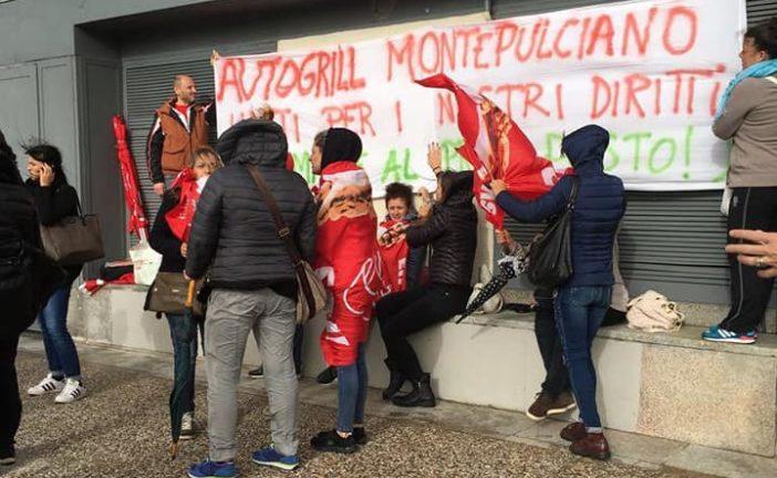 """Cgil e Cisl: """"Autogrill Montepulciano: bene gli ammortizzatori, ora i lavori"""""""