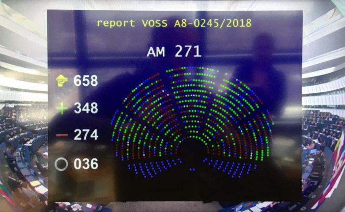 Giro di vite della UE sulla libertà in Rete