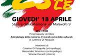 Al via le celebrazioni per il 25 Aprile