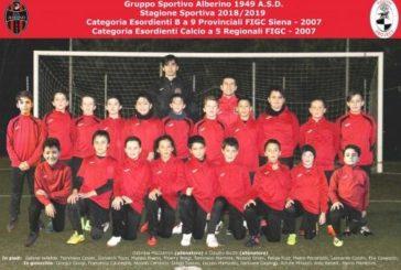 Gli Esordienti B 2007 dell'Alberino alla Finale Provinciale
