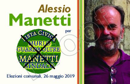 Murlo guarda oltre candida Alessio Manetti