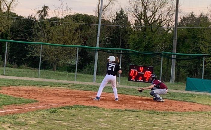 Baseball: Siena vince la sfida con i Tübingen Hawks