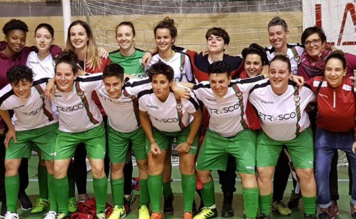 Castellina Scalo: il calcio a 5 femminile vince il campionato Uisp