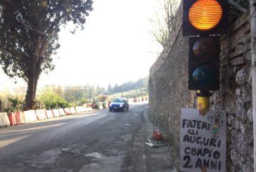 Scacciapensieri: il semaforo compie due anni