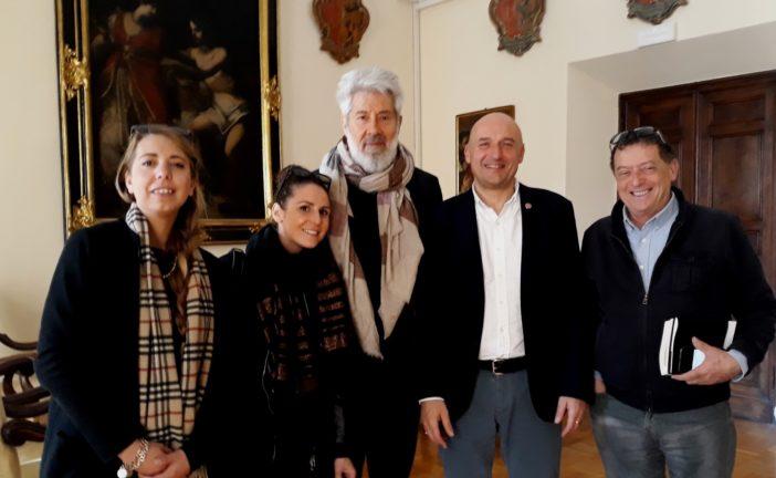 Alessandro Benvenuti ha incontrato il rettore Frati