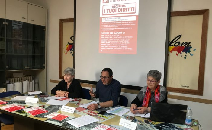 "Spi Cgil tutela i ""diritti inespressi"" dei pensionati"
