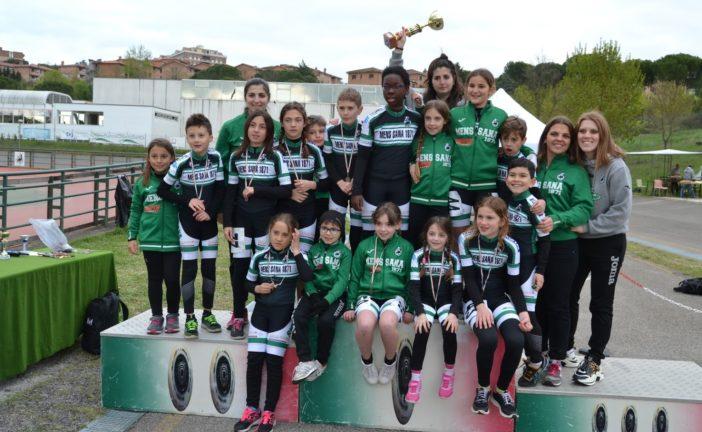 Pattinaggio corsa: Giovanissimi ed Esordienti campioni regionali