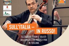 Alexander Rudin ed i solisti dell'Orchestra Musica Viva a Chianciano