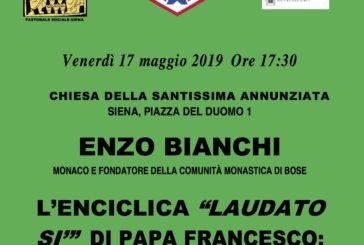 A Siena un incontro-dibattito su Enzo Bianchi