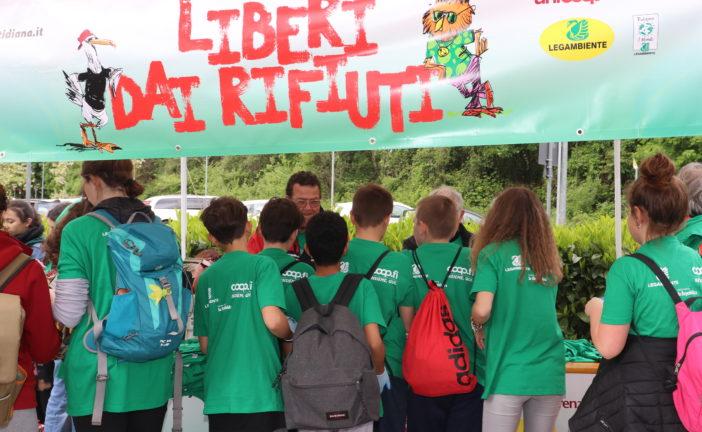 #liberidairifiuti: un'iniziativa di volontariato ambientale