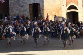 Gran finale per la festa medievale de Il Bianco e l'Azzurro
