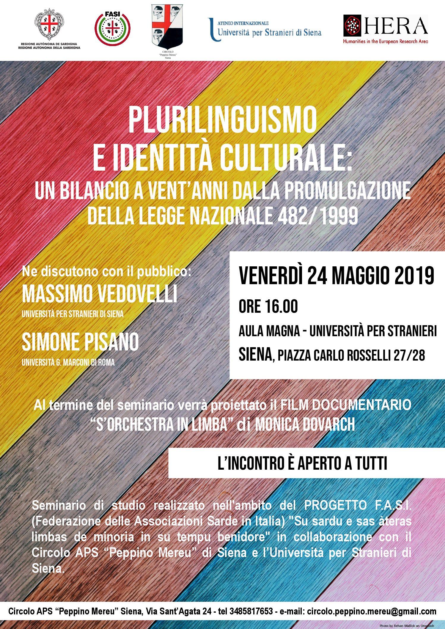 """In Unistrasi un seminario su """"Plurilinguismo e identità culturale"""""""
