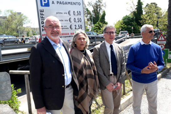 Il sindaco ha presentato il nuovo cda di Siena Parcheggi