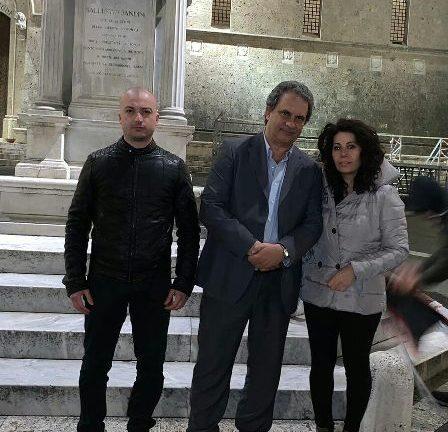 """Europee:""""FN tiene la piazza, Roberto Fiore incontra i candidati senesi"""""""