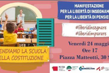 Anche Siena è per #liberidinsegnare, #liberidimparare