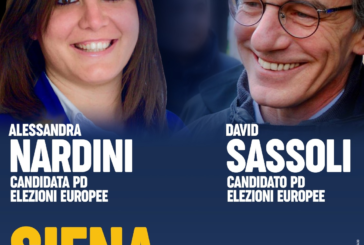 """Nardini e Sassoli in città per """"Siena Europa"""""""