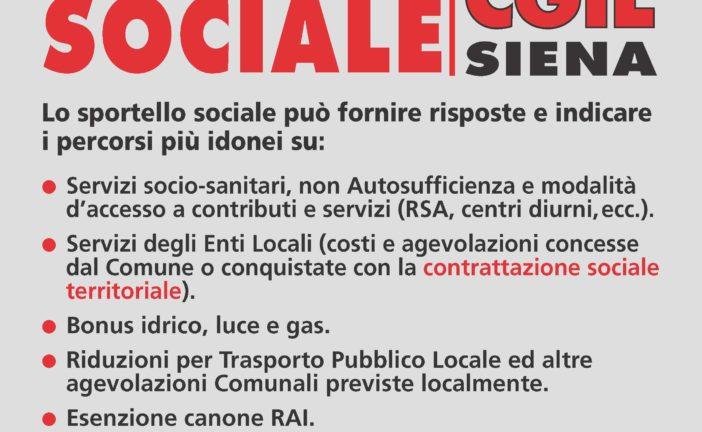 Spi Cgil ha attivato lo sportello sociale