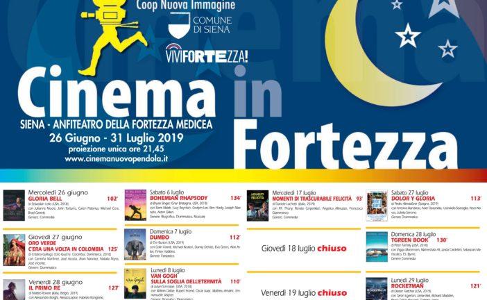 """Riapre il """"Cinema in Fortezza"""" con i film più belli dell'anno"""