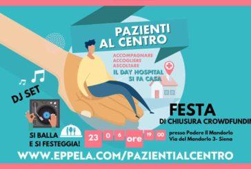 """Festa SienAil per il successo della raccolta fondi """"Pazienti al centro"""""""