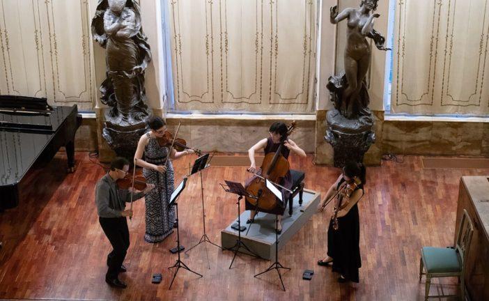 La Primavera Chigiana si avvia a conclusione con Il Carpe Diem String Quartet