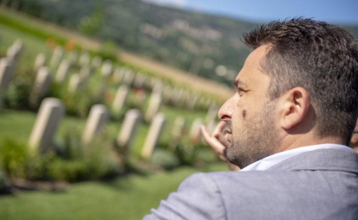 Chiusi: 75° della Liberazione; visita al cimitero del Commonwealth di Bolsena