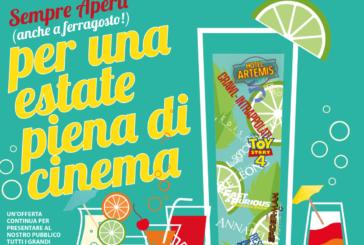 Un'estate piena di cinema al Multisala Naturale della Valdelsa