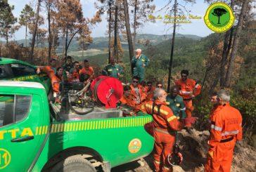 Antincendio boschivo: volontari de La Racchetta a lezione