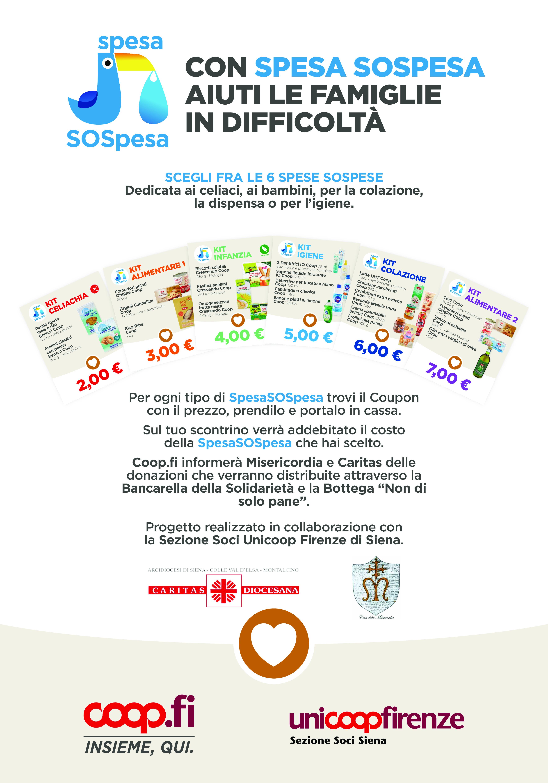 Con Coop Firenze, Misericordia e Caritas la spesa è SOSpesa