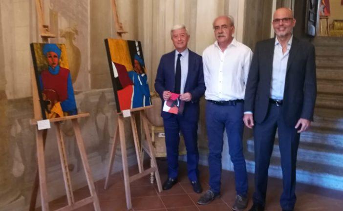 Apertura della mostra di Massimo Stecchi a Palazzo Sansedoni