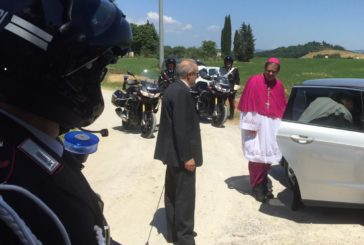 L'arrivo di monsignor Augusto Lojudice a Sant'Ansano