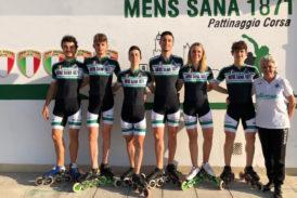 Pattinaggio corsa: sei atleti biancoverdi al Mondiale