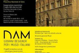 Il 5 luglio riapre la pinacoteca con la mostra DAM