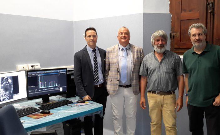 Inaugurato all'Università di Siena il nuovo laboratorio di Petrologia